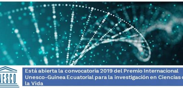 Está abierta la convocatoria 2019 del Premio Internacional Unesco-Guinea Ecuatorial