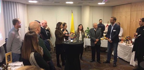 Embajada de Colombia en Suecia organizó muestra de cafés especiales 'Colombian Scpeciality Coffee Roadshow'