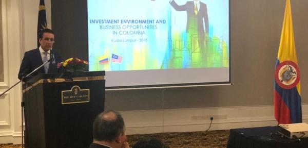 Embajada de Colombia y ProColombia promueven oportunidades de inversión en Malasia