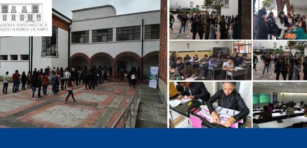 Más de 600 colombianos presentaron examen de ingreso para la Carrera Diplomática