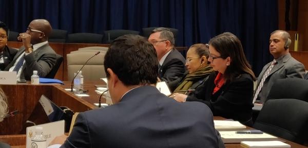 La Viceministra Adriana Mejía reiteró el compromiso de Colombia con la prevención, sanción y represión del terrorismo en todas sus formas y manifestaciones en el encuentro organizado por el Departamento de Estado de USA