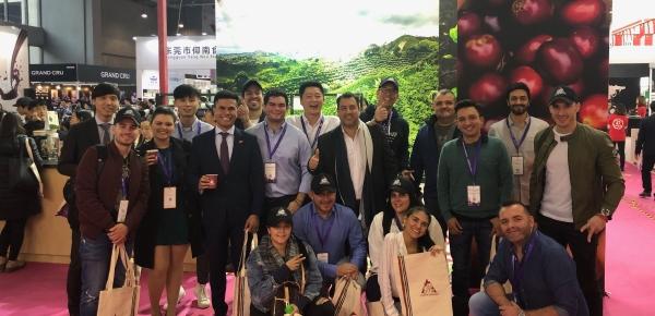 El Consulado apoyó la realización del primer programa de embajadores de café de Colombia en Guangzhou