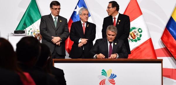 Lucha contra la corrupción y protección al medio ambiente, temas liderados por el Presidente Iván Duque en la Alianza del Pacífico