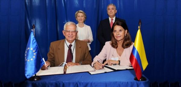 Colombia y la Unión Europea reconocen el carácter estratégico de la relación bilateral
