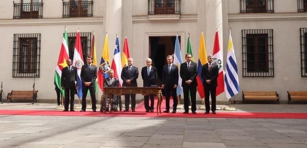 Declaración Presidencial sobre la Renovación y el Fortalecimiento de la Integración de América del Sur