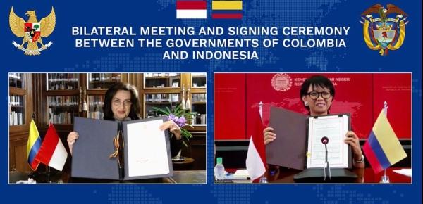 Canciller Claudia Blum firmó acuerdo que permitirá que los colombianos ingresen sin visa a Indonesia