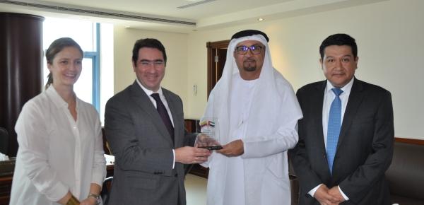 La Embajada de Colombia en Emiratos Árabes Unidos avanza en la apertura de mercados para los productos colombianos