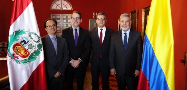 Colombia y Perú realizaron la Décimo Sexta Reunión de la Secretaría Ejecutiva de la Comisión Binacional para la Zona de Integración Fronteriza