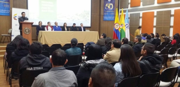 Dirección para el Desarrollo y la Integración Fronteriza participó en la clausura del Diplomado en Convergencia, Paz y Frontera