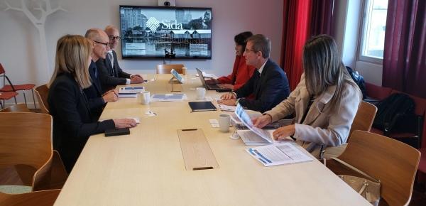 Consejero Presidencial para la Estabilización y Consolidación sostuvo encuentros con entidades en Suecia