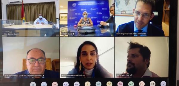 Colombia lidera primera reunión de Coordinadores PROSUR