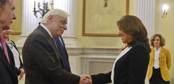 Embajadora de Colombia en Italia, Gloria Isabel Ramírez Ríos, presentó cartas credenciales que la acreditan como embajadora no residente