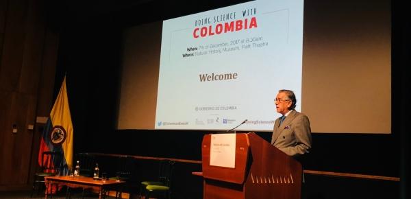 La Embajada de Colombia en Londres realizó el foro  'Doing Science With Colombia'