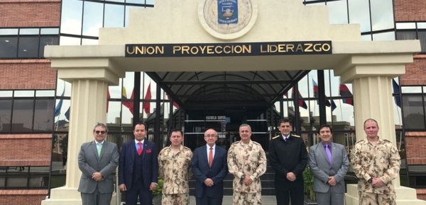 El Director de la Academia Diplomática se reunió con Director de la Escuela Superior de Guerra para explorar iniciativa de maestría conjunta
