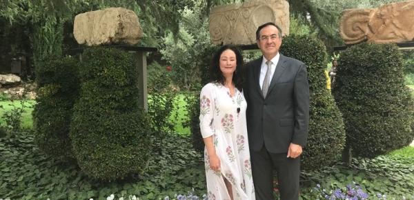Embajador Carlos Arturo Morales acompañó a Natalia Ponce de León en la Trigésima Conferencia Internacional de Mujeres Líderes en Israel