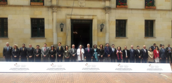 Ministros de Cultura de Iberoamérica acuerdan en Colombia acciones para reforzar el aporte de la cultura