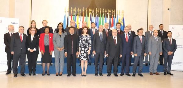 Canciller Holguín participa en la sesión plenaria de la VIII Conferencia Italia – América Latina y Caribe