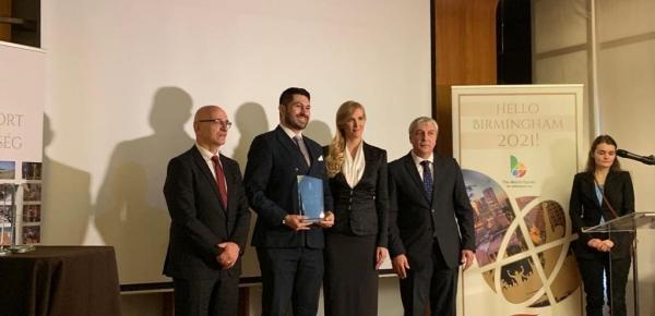 La Embajada de Colombia recibió reconocimiento a las relaciones deportivas internacionales