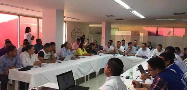 Director y Gerente de Fronteras lideraron Puesto de Mando Unificado en Valledupar con varias entidades