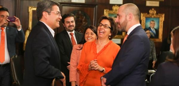 Embajada de Colombia en Honduras acompañó la visita de trabajo a Tegucigalpa del Consejero Presidencial para Asuntos Económicos y Estratégicos de Colombia, Felipe Buitrago