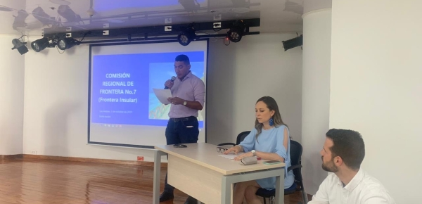 En San Andrés, Providencia y Santa Catalina sesionó la Comisión Regional para la Frontera