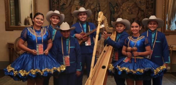 Jóvenes intérpretes de arpa llanera del Guaviare viajarán a Irlanda al intercambio de Diplomacia Cultural