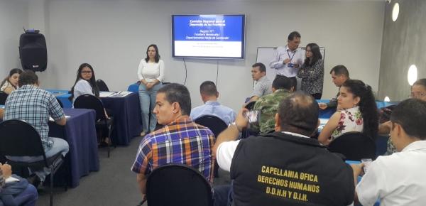 Dirección para el Desarrollo y la Integración Fronteriza y DNP, lideraron reunión para recolección de insumos del Plan Nacional de Desarrollo 'Pacto por Colombia'