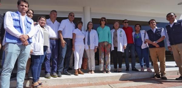 Canciller realizó recorrido por el hospital San José de Maicao