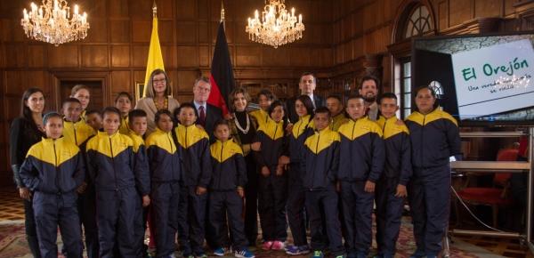 Jóvenes de El Orejón y Pueblo Nuevo participarán en Alemania en un intercambio deportivo de fútbol