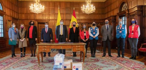 Gobierno del Reino de España se solidariza con damnificados de la ola invernal en el territorio