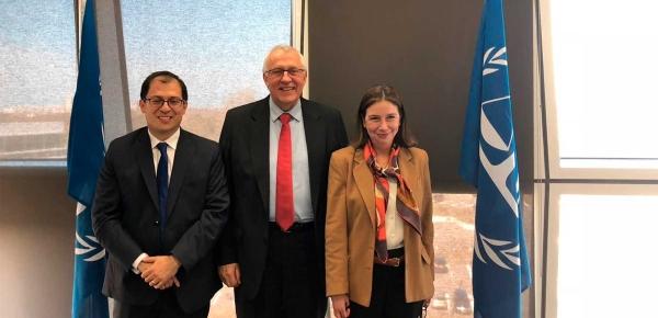 Gobierno Nacional reiteró ante el Vicefiscal de la Corte Penal Internacional en La Haya el compromiso por la protección de líderes