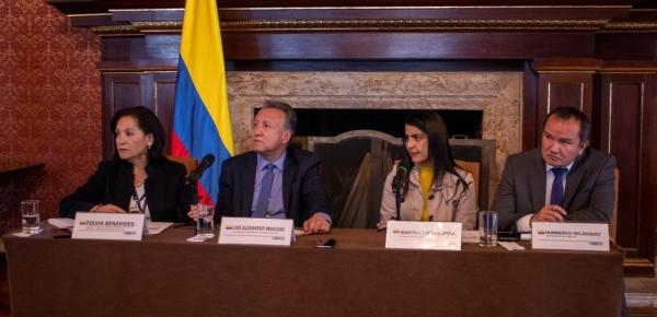 Cancillería, Ministerio de Salud y Migración Colombia presentaron las diferentes acciones contra el Coronavirus COVID-19 en Colombia