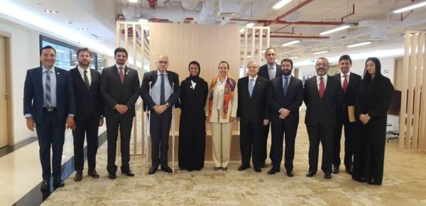 El Embajador de Colombia asistió a la reunión de Grupo de Latinoamérica y el Caribe con la Ministra de Cultura de Emiratos Árabes Unidos