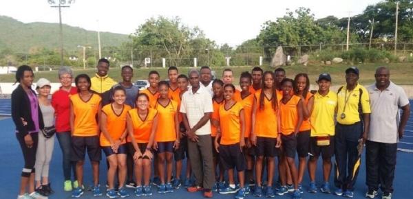 Culminó intercambio de atletismo en Jamaica con la participación de 25 jóvenes deportistas colombianos