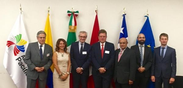 Colombia participó en reunión de trabajo del Grupo Técnico de Movimiento de Personas de la Alianza del Pacífico con la Unión Europea en Ciudad de México