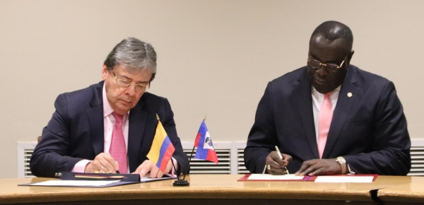 Colombia y Haití reafirman compromiso en fortalecimiento de cooperación entre ambos países