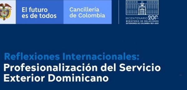 Conferencia:  Profesionalización del Servicio Exterior Dominicano