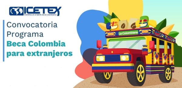 Beca Colombia para Extranjeros 2020
