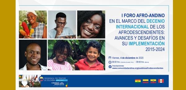 I Foro Afro-Andino en el Marco del Decenio Internacional de los Afrodescendientes: Avances y desafíos de su implementación 2015-2024