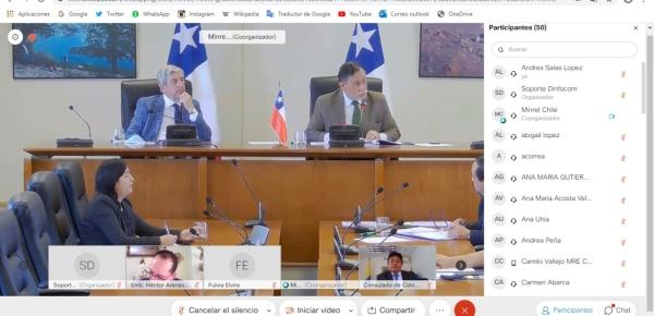 II reunión de La comisión de asuntos consulares y migratorios