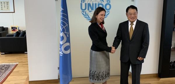 Viceministra de Asuntos Multilaterales se reunió con el Director General de la Organización de las Naciones Unidas