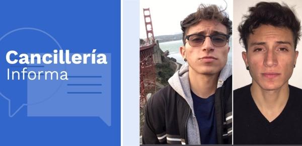 Cancillería presta asistencia por desaparición de joven colombiano en California