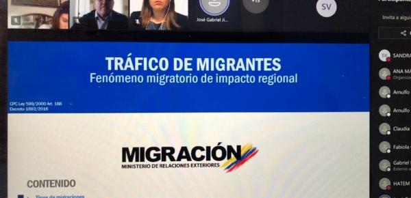 Abordaje del delito de tráfico ilícito de migrantes entre Colombia-Chile en junio de 2021