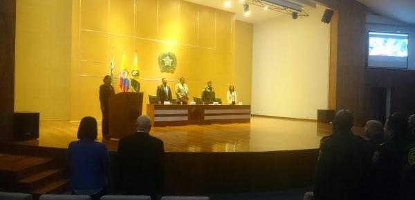 Segundo seminario de gestión policial y relaciones internacionales para funcionarios de la Policía Nacional de Colombia