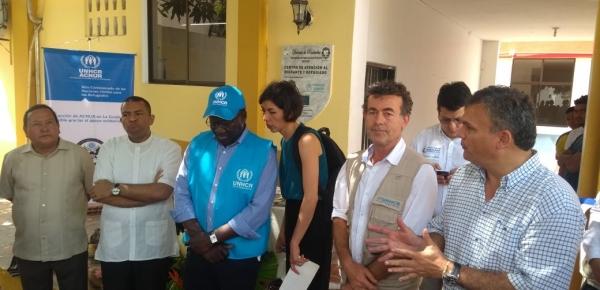 Cancillería acompañó visita del Alto Comisionado adjunto de la ONU para los Refugiados (Acnur) a la zona de frontera en La Guajira