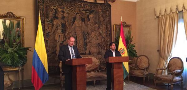 Se realizó en Bogotá la II Reunión de la Comisión Mixta Colombo-Boliviana para la lucha contra el Problema de las Drogas