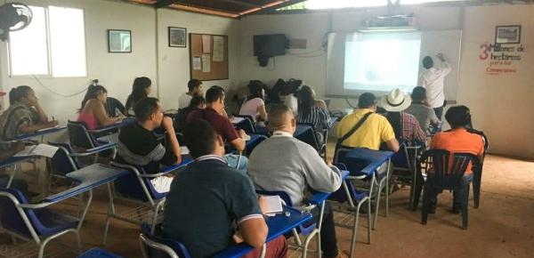 Cancillería realiza taller de fotoperiodismo en Espacio Territorial de Capacitación y Reincorporación en San José