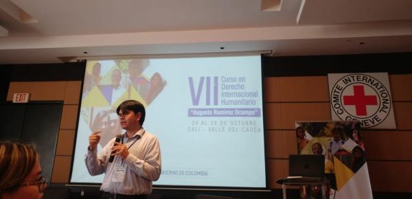 """Culminó el VII Curso en Derecho Internacional Humanitario """"Augusto Ramírez Ocampo"""""""