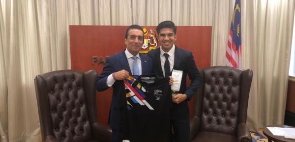 Colombia y Malasia identifican proyectos de cooperación en materia de deportes