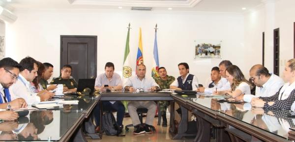 En Valledupar se desarrolló la mesa de seguimiento para revisar la situación migratoria en el Cesar